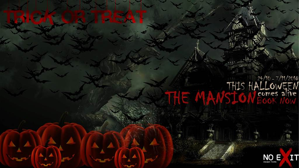 The Mansion Halloween edition