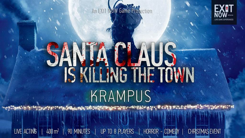 Santa Claus Is Killing The Town: Krampus