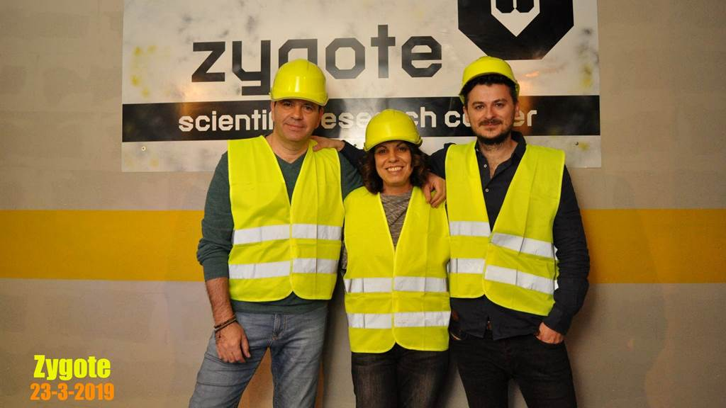 Room 001: Zygote team photo