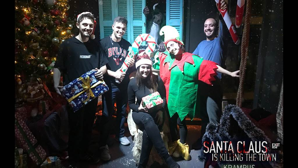 Santa Claus Is Killing The Town: Krampus team photo
