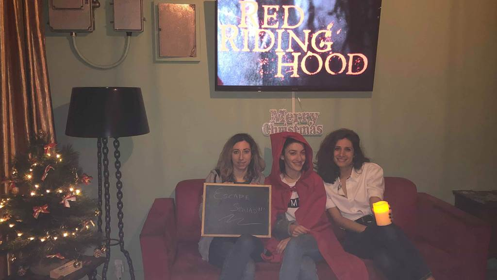 Red Riding Hood team photo