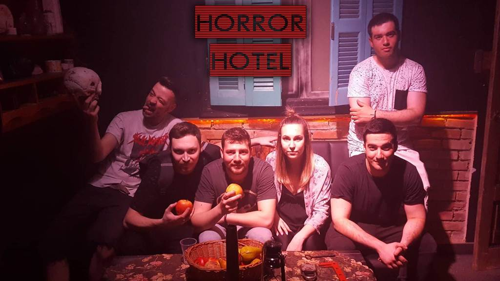 HORROR HOTEL | The Experiment Ιουν-2019