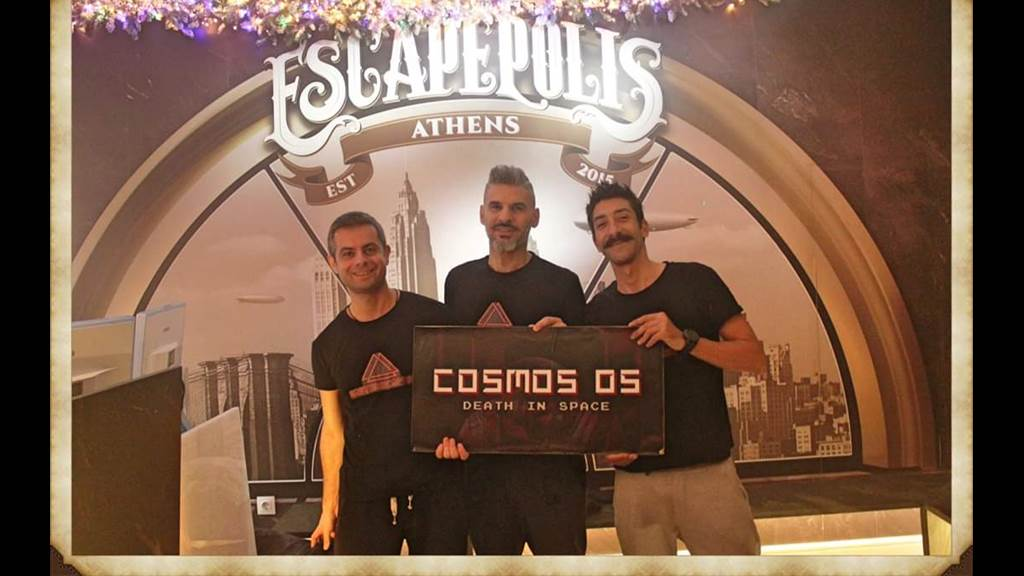 COSMOS 05 Death in Space team photo