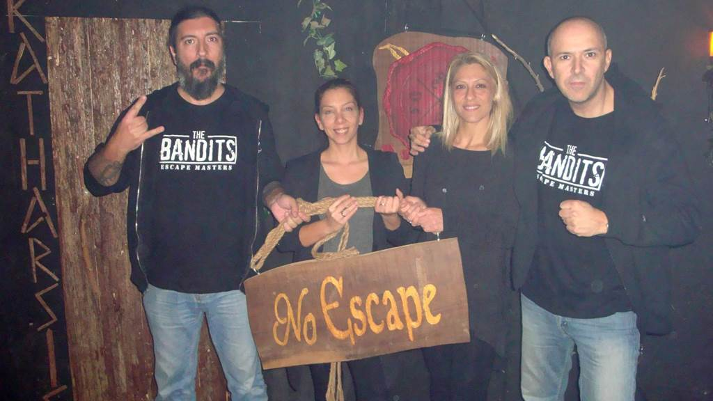KATHARSIS - Caves Of Banjul team photo