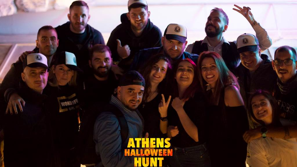 Athens Halloween Hunt 2019 team photo