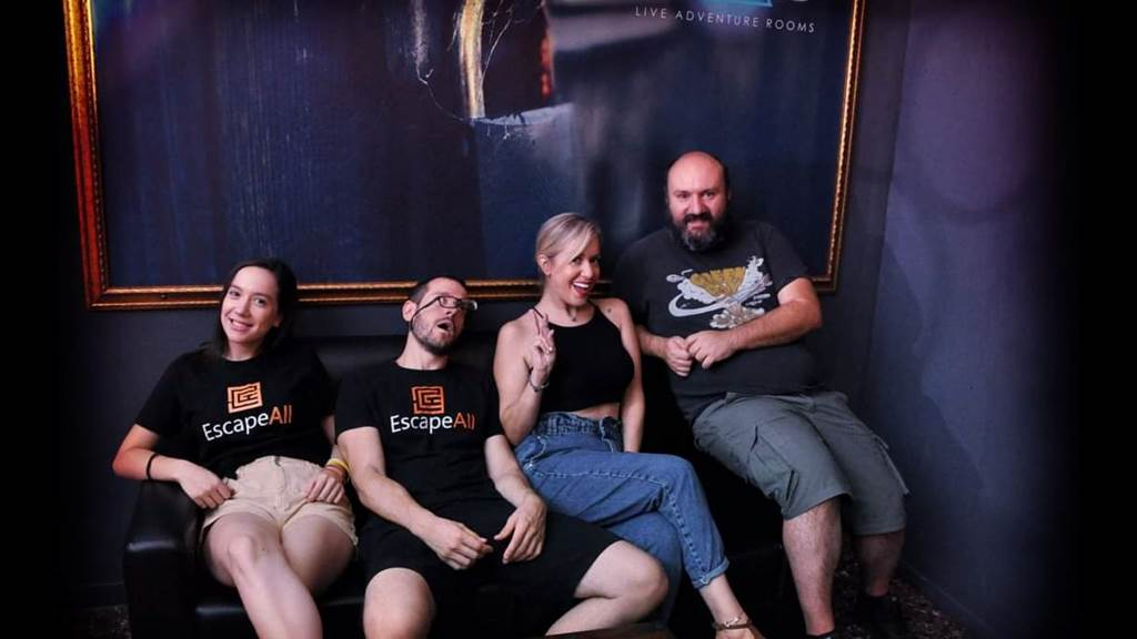 Room 103: Paranoic Reborn team photo