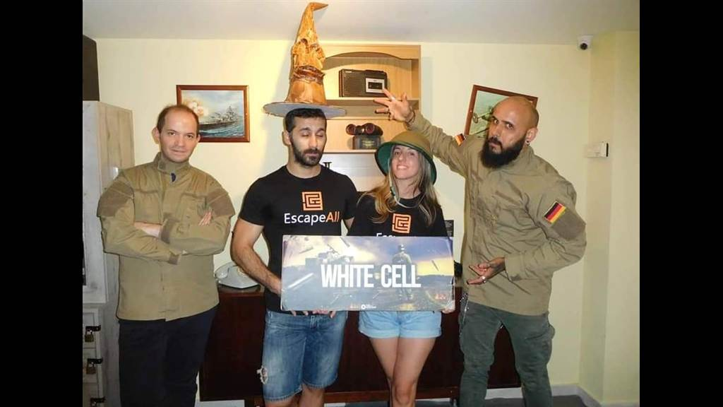 White Cell team photo