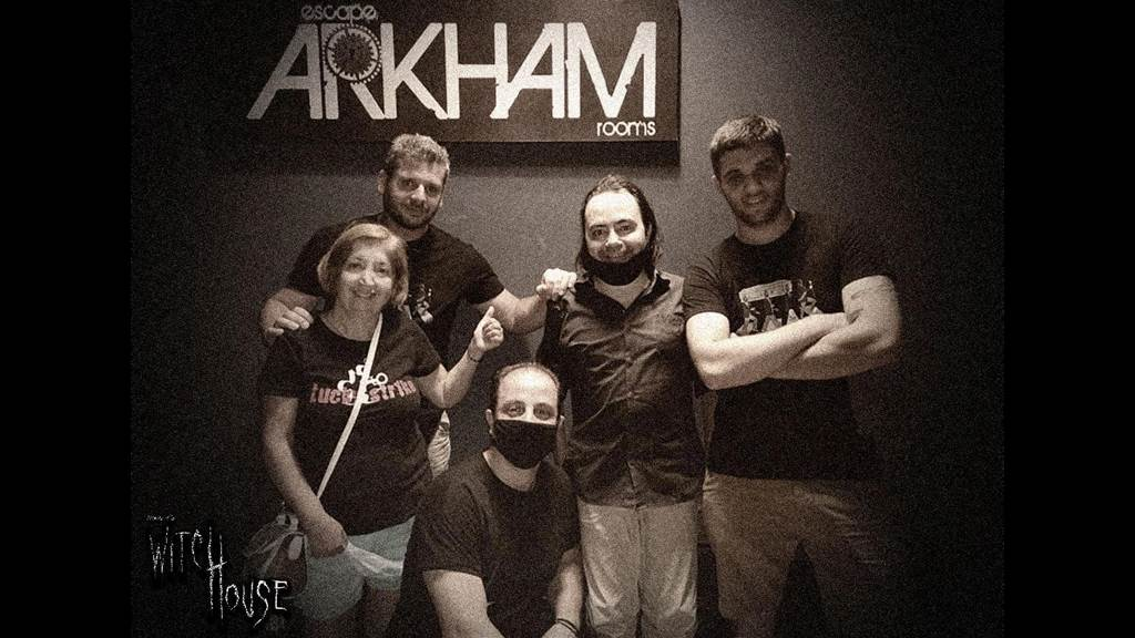 Arkham's Witchouse: Through Time & Space team photo