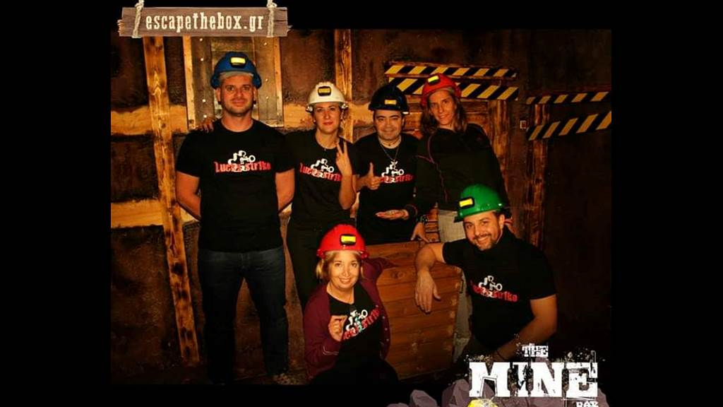 The MINE Box team photo