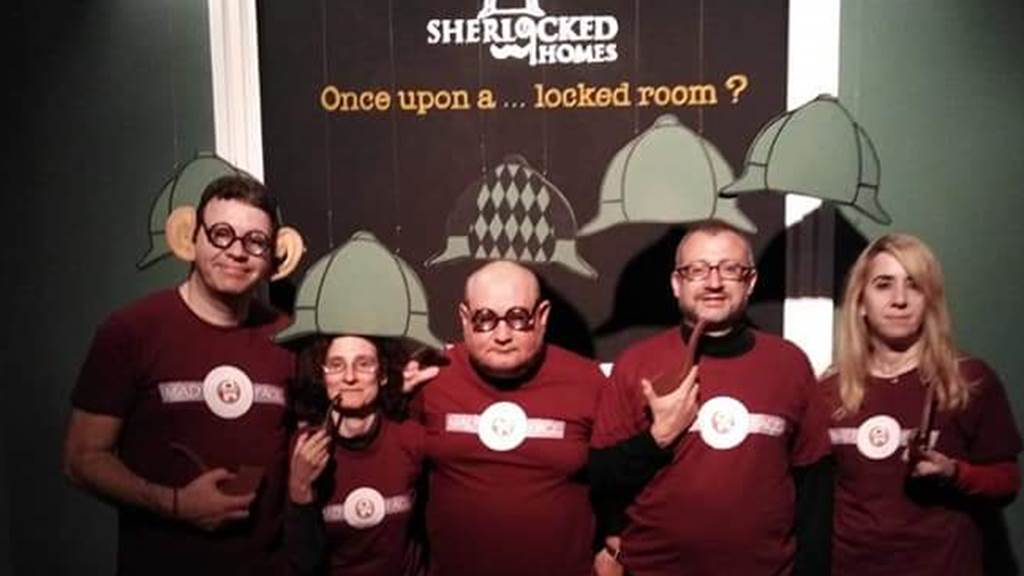 SHERLOCK MAZE team photo