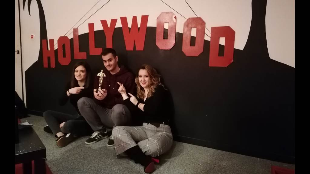 Hollywood team photo