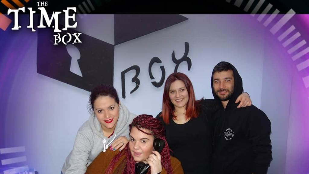 The TIME Box team photo
