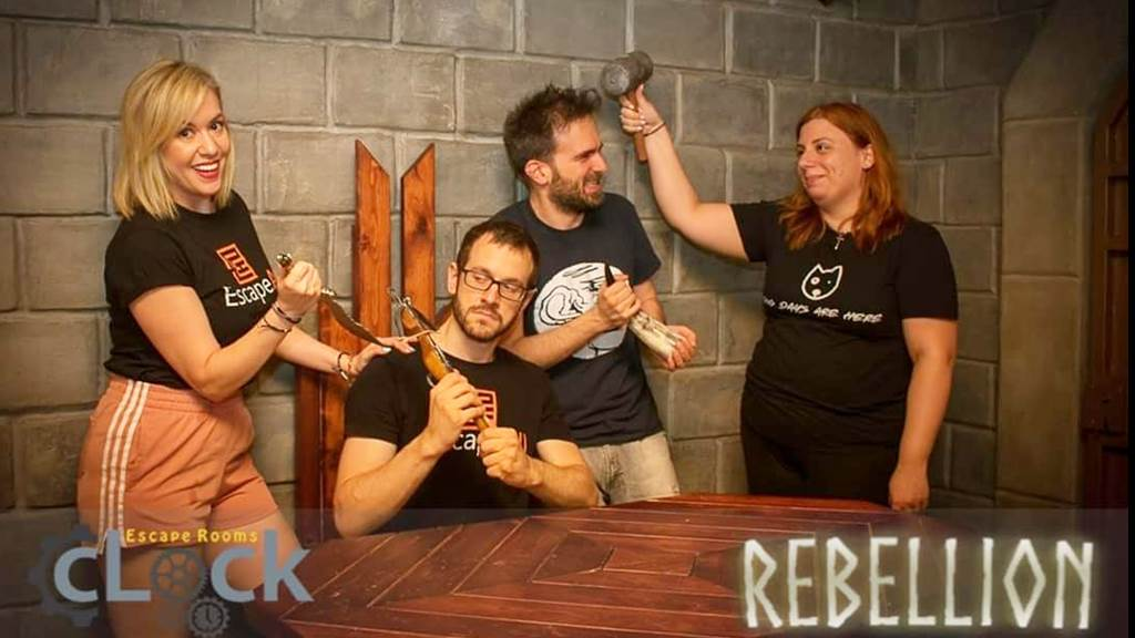 REBELLION team photo
