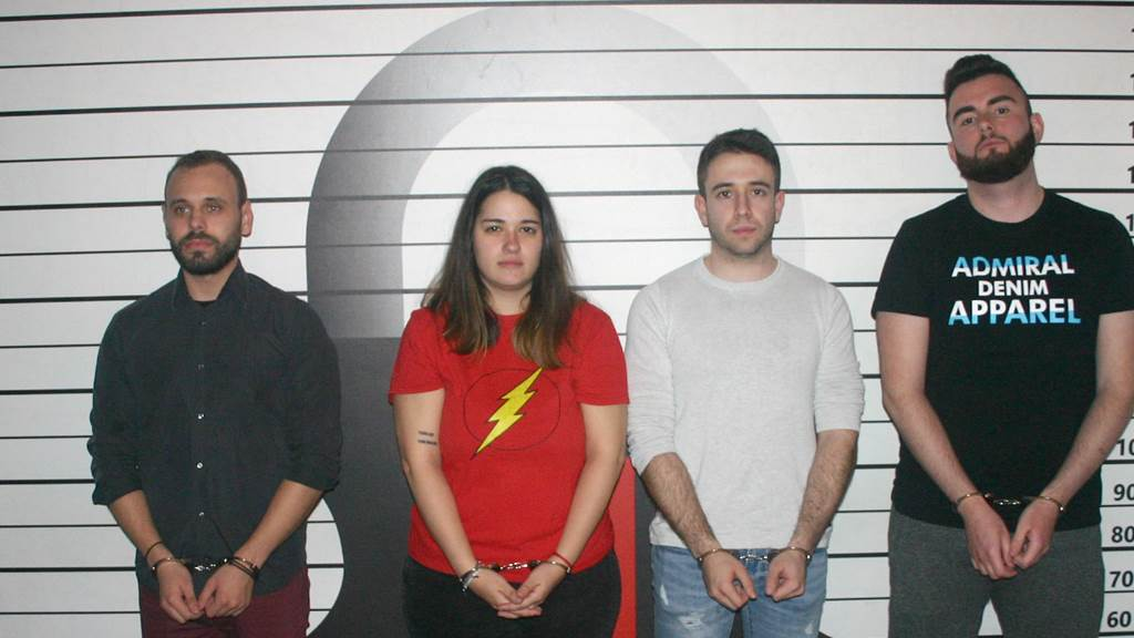 The Prison team photo